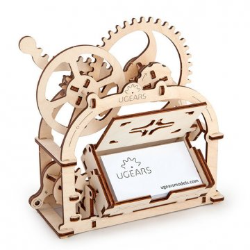 3D пазл UGears Mechanical Box (Шкатулка)