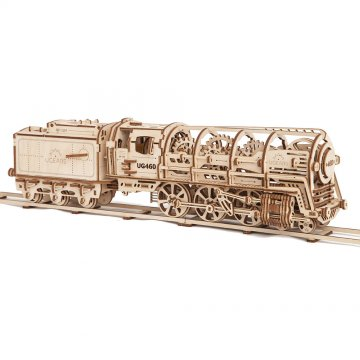 Механический 3D-пазл UGears Train (Локомотив)