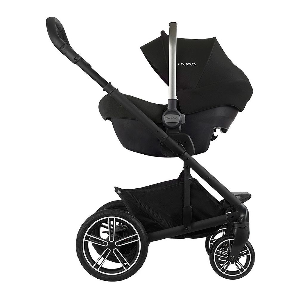 Nuna Pipa Lite on stroller
