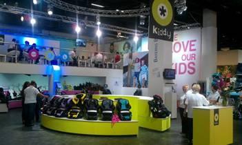 Компания Kiddy на выставке Kind + Jugend 2011