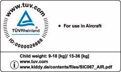 Рекомендация Kiddy ведущими авиакомпаниями для перевозки детей в салонах авиалайнеров