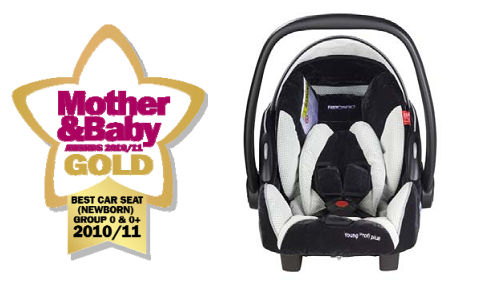 Позиция 1: ЗОЛОТО - RECARO Young Profi Plus кресло авто-люлька для младенцев