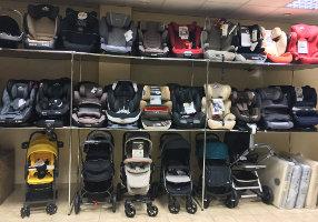 Магазин автомобильных кресел для детей