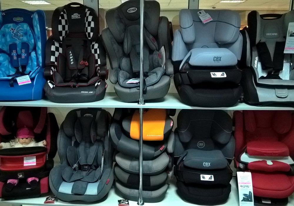 Магазин автомобильных кресел